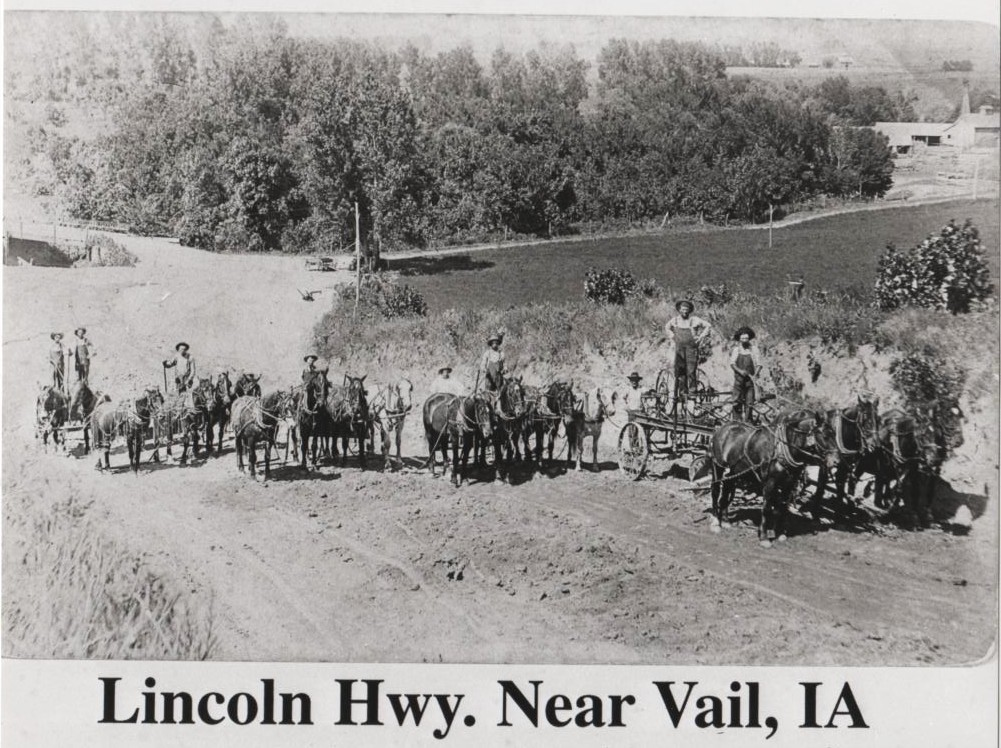 Lincoln Hwy Near Vail IA