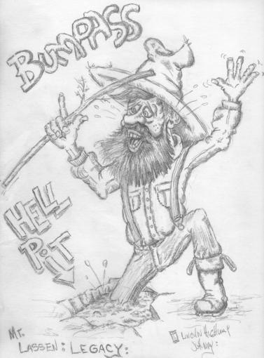 Bumpass Hell Pit