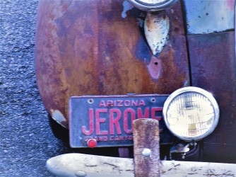 Jerome License Plate